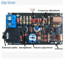 DIY Kits 76-108MHz FM Radio Transmitter FM Wireless Microphone Electronic Suit