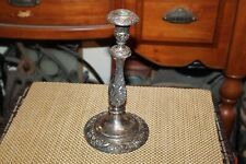 Rogers Bros. Heritage Victorian Style Candle Holder Floral Designs Candlestick