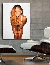 Poster Mural Rihanna R&B Musician 40x52 inch (100x130 cm) on Adhesive Vinyl