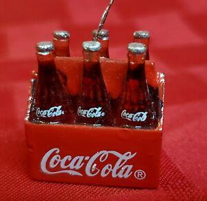 Koala On Coke Bottle Set of 2 Vintage Coca Cola Pin /& Key Ring