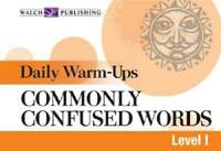 Daily Warm-ups For Commonly Confused Words (Daily Warm-Ups English/Langua - GOOD