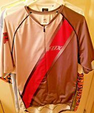 Cool FOX cycling shirt with back pockets.  sz. XL