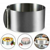 Round Mousse Mould Cake Stainless Steel Ring Pastry Mold Top 1Pcs Baking To Z0T2