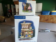 DEPARTMENT 56 SNOW VILLAGE HOPE CHEST CONSIGNMENT SHOP/WHAT A GREAT FIND FIGURE