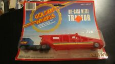 Golden Wheel TRACTOR TRAILER DIECAST METAL TRUCK 1:100 Scale