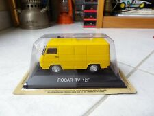 Rocar tv 12f ixo de agostini 1/43 miniature