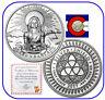 2017 Silver Shield BU Abundance Silver Round -- Mini Mintage w/ CoA & in airtite