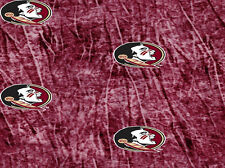 FLORIDA STATE SEMINOLES COTTON FABRIC-FSU COTTON FABRIC-TIE DYE-NEW DESIGN