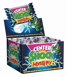 (1,00€/100g) Center Shock Mysterie 100x4g - Saurer Kaugummi mit Füllung