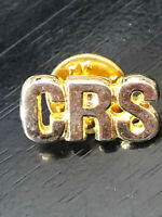 Vintage Collectible CRS Colorful Metal Pin Back Lapel Pin Hat Pin