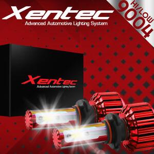 XENTEC LED HID Headlight kit 9004 HB1 6000K for 1985-1989 Subaru GL-10