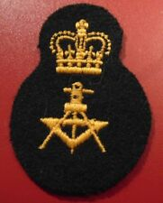 Canadian Armed Forces DRAUGHTSMAN qualification trade patch badge level 3 black