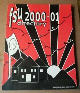 2000 - 2001 Frostburg State University Student Directory