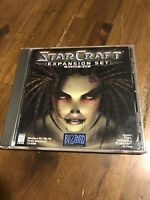 Star Craft Expansion Set Brood War Cd-Rom PC Game Blizzard Entertainment