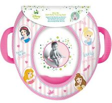 Disney Princess Mini WC Soft Potty Training Seat with Handles