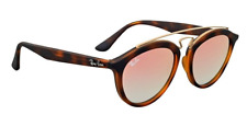 Ray Ban Gatsby II Sunglasses RB 4257 c.6267/B9 Matte Tortoise Copper Mirror 50mm