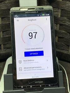 Rooted!! Motorola Droid X (Verizon) Unlocked - 8GB (Black) AOS 2.3.4