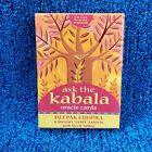 Ask The Kabala Oracle Cards Deepak Chopra  2006 Rare VTG Mystical Angel Tarot