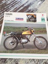 Yamaha 125 AT1 E 1971 AT 1 AT1E Carte moto Collection Atlas Japon