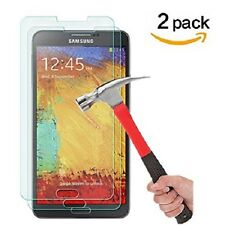 2-Pk Premium Real Tempered Glass Screen Protector for SAMSUNG Galaxy Note 4 j-c