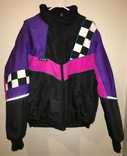 Joe Rocket Jacket Insulated Checkered Flag Jacket Men's M Motorcycle snowmobile