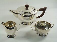 Deakin & francis sterling argent-art déco - 3 piece tea set