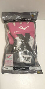 EVERLAST Elite Evergel Handwraps Women's Large Pink 4355PL New in Package