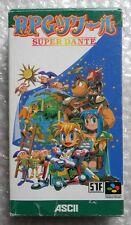 SUPER DANTE SUPER FAMICON NINTENDO 64 NTSC JAP