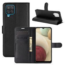 Hülle für Samsung Galaxy A12 Handy Tasche Case Flip Cover Etui Wallet Handyhülle