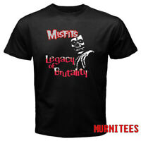 The Misfits Rock Band Legacy Of Brutality Album Men's Black T-Shirt S to 3XL