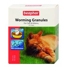 Beaphar Worming Wormer Granules Powder for Cats Cat Dewomer New