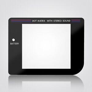 Replacement GameBoy Screen Glass Lens Black for Nintendo Original DMG-01