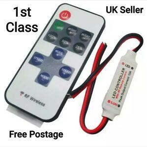 12V Remote Control on/off & Dimmer for led lights Camper van (Battery Included)