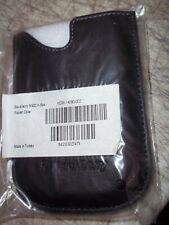 BNIP Leather Pocket Case BlackBerry 8300 SERIES CELL PHONES HDW-14090-002
