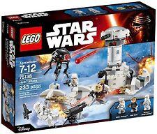 LEGO STAR WARS 75138 Hoth Attack , Ataque a Hoth , El Imperio Contraataca NUEVO