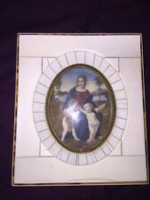 Veber Miniature Paint Yvory Framed Antique 1800's.-A000