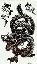 New Einmal-Tattoo Temporary Body Art Wasserdicht HM330 Neu