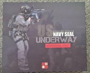 1:6 Figur Navy Seal Boarding Army Devgru Soldat Militärfigur Kitbash 1/6 1.6