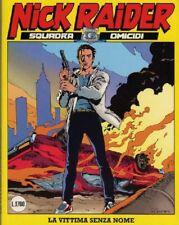 NICK RAIDER 1/100 BLOCCO  sequenza  - SERGIO BONELLI fumetti / DAIM PRESS 1988