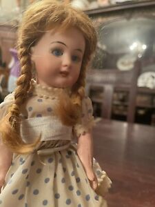 "Antique RARE Size 8"" Tall Simon & Halbig Mold 1079 Bisque Head Doll"