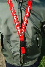 Remove Before Flight Lanyard - With Safety Buckle - New