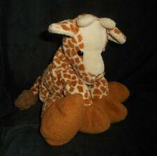 GUND KIDS LONGLY 60132 FLOPPY BABY BROWN GIRAFFE STUFFED ANIMAL PLUSH TOY LOVEY