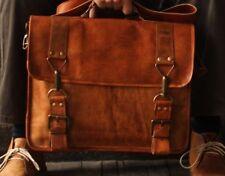 Vintage Retro Leather Men's Messenger Bag Satchel Shoulder Laptop Briefcase Bag