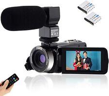 Video Camcorder Cofunkool Full HD 1080P Vlogging Camera 30MP3.0'' LCD