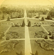 Stereoview Photo View From Agricultural Department Washington DC Underwood