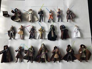 Star Wars 3.75 Jedi Lot TLC The Black Series, Vintage Collection