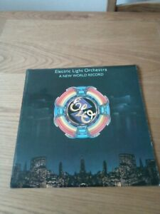A New World Record, ELO, LP record, embossed sleeve