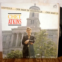 Chet Atknis Our Man in Nashville LP RCA Mono rockabilly VG+