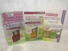 3 Nutra Nail Products 2 Iron Strength Mineral Collection Look