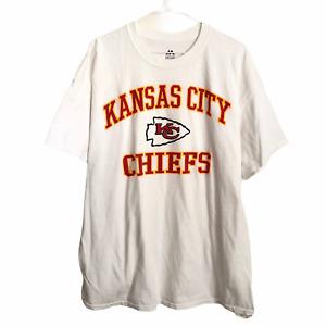 Kansas City Chiefs NFL Football Team Men's Shorts Sleeve T Shirt Majestic Sz XL